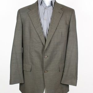 Brooks Brothers Brown Two Button Blazer Size 42L